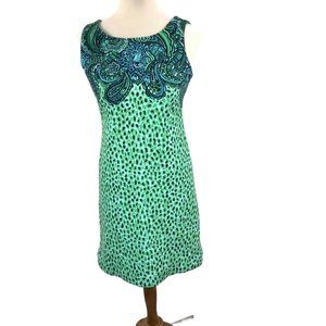 Lilly Pulitzer Dress Size 0 Teal Jungle Print
